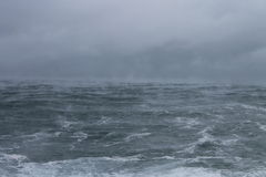 Дым моря стоковая фотография