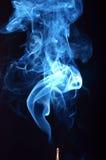 Дым на черной предпосылке Стоковые Фото