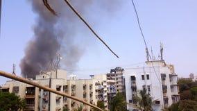 Дым огня Стоковая Фотография RF