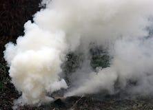 Дым от бомб Стоковые Изображения RF