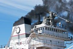 Дым от стогов Стоковое Фото