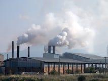 Дым от тяжелой intustry фабрики Стоковое Изображение RF
