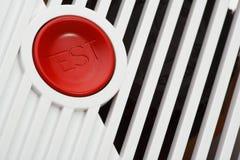 дым пожара детектора Стоковое фото RF