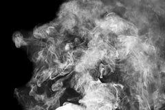 дым предпосылки черный Стоковые Изображения