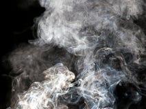 дым предпосылки черный Стоковая Фотография