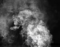 дым предпосылки черный Стоковая Фотография RF