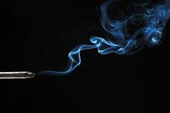 дым сигареты Стоковое Изображение