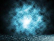 Дым синий Стоковые Фотографии RF