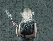 Дым смерти Стоковая Фотография