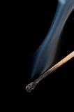 дым спички Стоковая Фотография RF