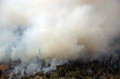 дым толщиной Стоковое фото RF