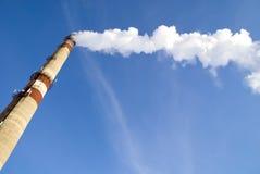 дым трубы Стоковые Изображения RF