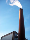 дым трубы стоковая фотография