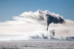 Дым фабрики стоковые фотографии rf