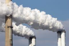 Дым фабрики Стоковые Изображения RF