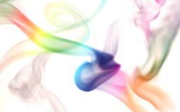 дым цвета Стоковое Изображение RF