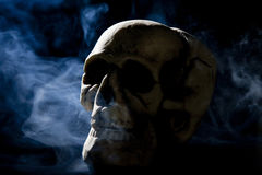 дым черепа Стоковое фото RF