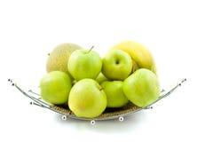 дыня плодоовощ шара банана яблок Стоковое Изображение RF