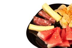 Дыня с холодным мясом стоковая фотография