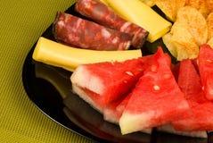 Дыня с холодным мясом стоковое изображение