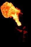 дыхание горячее Стоковое фото RF