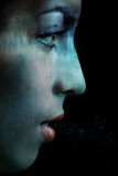 дышать под водой Стоковые Изображения