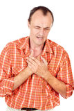дышая проблема Стоковое фото RF