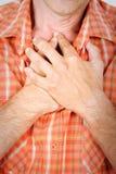 дышая Харт Стоковая Фотография RF