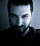 дьявольские глаза укомплектовывают личным составом сверкнать Стоковая Фотография RF