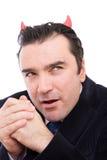 дьявол бизнесмена Стоковая Фотография RF