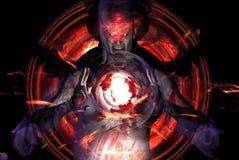 дьявол Стоковая Фотография