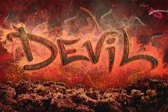 дьявол Стоковое фото RF