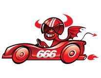 дьявол s автомобиля бесплатная иллюстрация