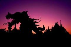 Дьявол в виске Стоковая Фотография RF