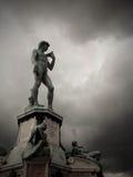 Дэвид в Piazzale Микеланджело, Флоренсе Стоковая Фотография RF