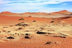 Дюна в Sossusvlei Намибии Стоковые Фото