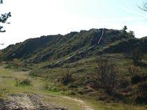 Дюна и лестницы Стоковое Изображение RF