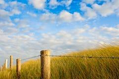 Дюна и небо Стоковое Изображение