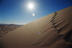 дюна пустыни Стоковое фото RF