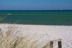 дюны береговой линии Стоковое фото RF