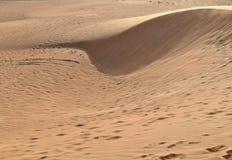 Дюны в пустыне, Дубай Стоковые Изображения
