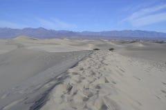 Дюны в Death Valley Стоковое Изображение