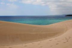 Дюны и море Стоковая Фотография RF
