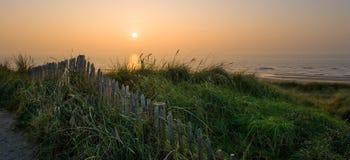 Дюны и море Стоковое Фото