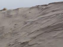 Дюны на пляже от amrum острова стоковое фото rf