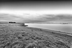 Дюны на Северном море в Голландии Стоковое Изображение