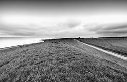Дюны на Северном море в Голландии Стоковые Фотографии RF