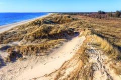 Дюны на северном море около Bunken Стоковые Изображения