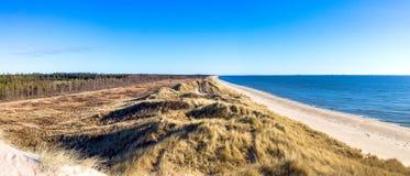 Дюны на северном море около Bunken Стоковое Фото