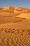 дюны опорожняют четверть Стоковые Изображения